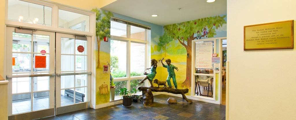 Ronald McDonald House East is located near Randall Children's Hospital and Legacy Emanuel as well as the Kartini Clinic in North Portland.